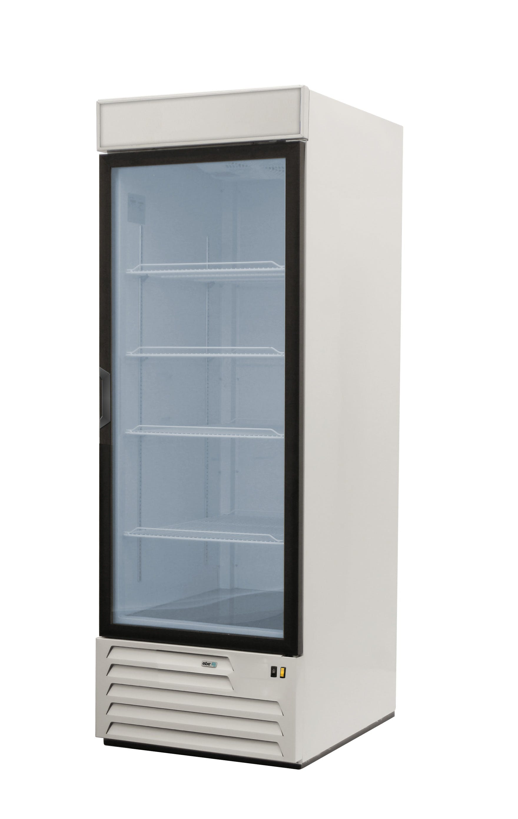 ARMD-23 A: Asber Single glass door Refrigerator Merchandiser