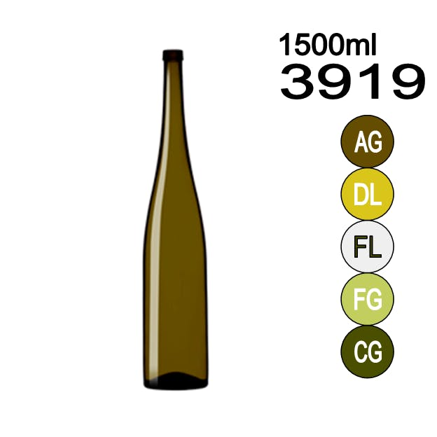 #3919 Wine bottle sold by Wholesale Bottles USA