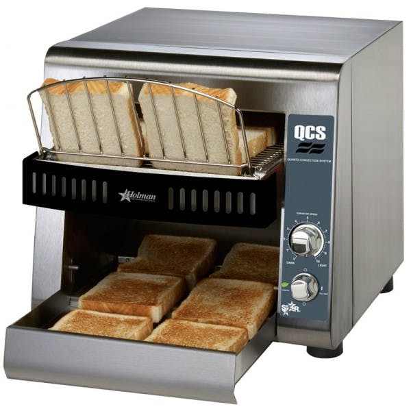 Stainless Compact Conveyor Toaster