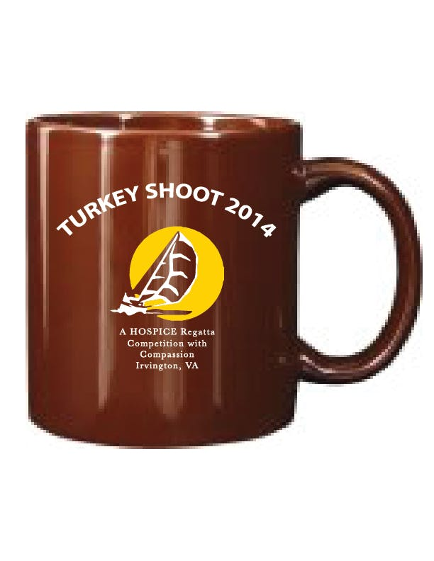 7168-30 Brown 11 oz C-handle Mug Ceramic mug sold by ARTon Products