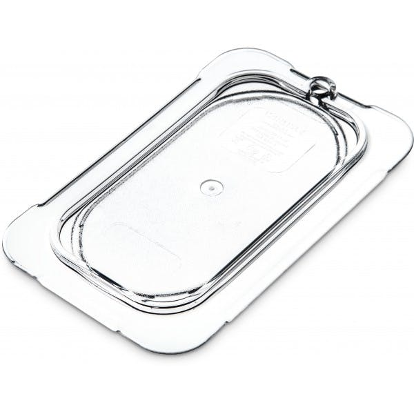 Ninth Size Clear Plastic Solid Cover