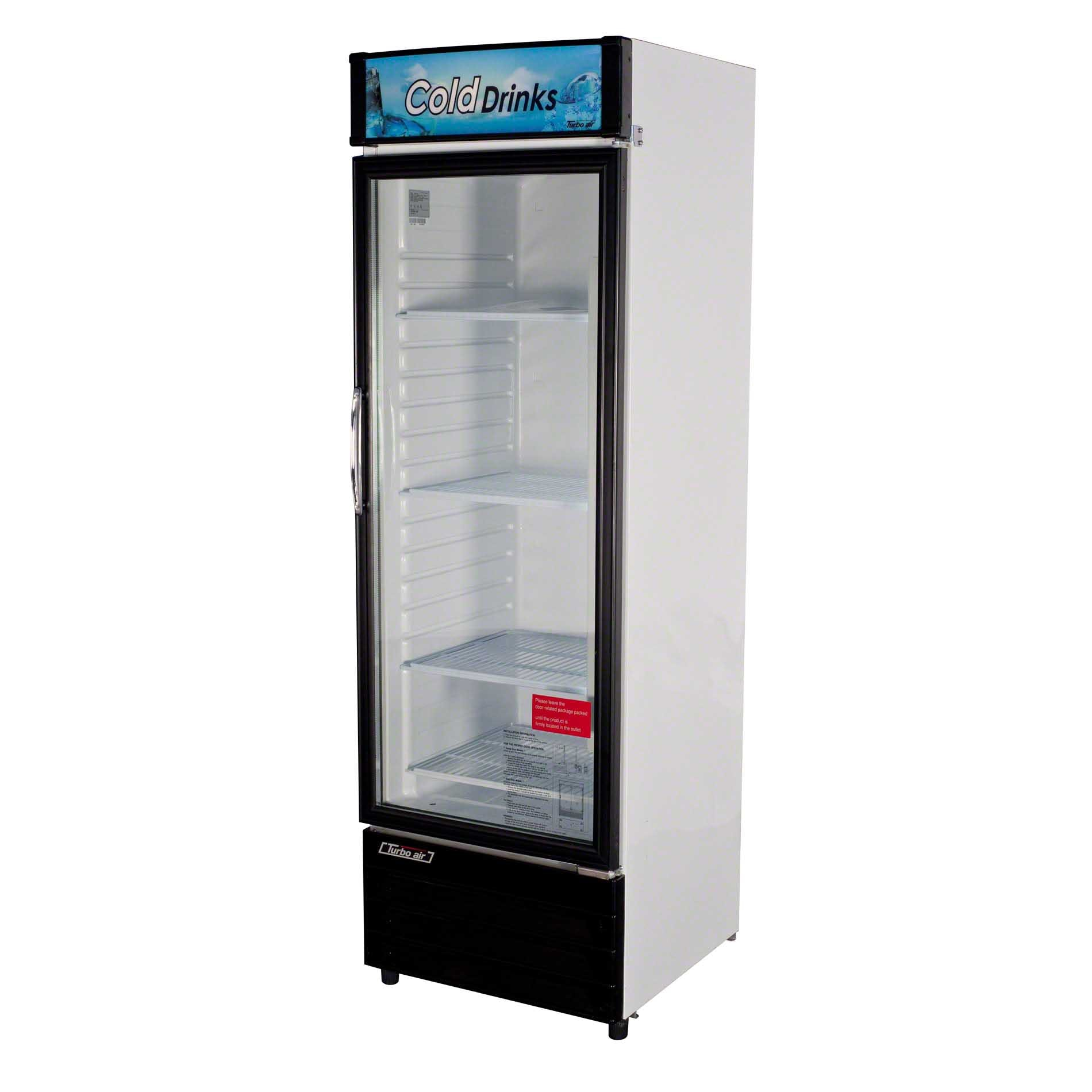 "Turbo Air - TGM-14RV 24"" Glass Door Merchandiser - sold by Food Service Warehouse"