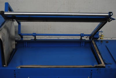 SHRINK WRAPPER, MODEL CSG01 WITH L-BAR SEALER - sold by Union Standard Equipment Co