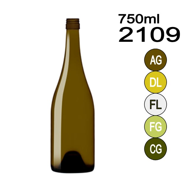 #2109 Wine bottle sold by Wholesale Bottles USA