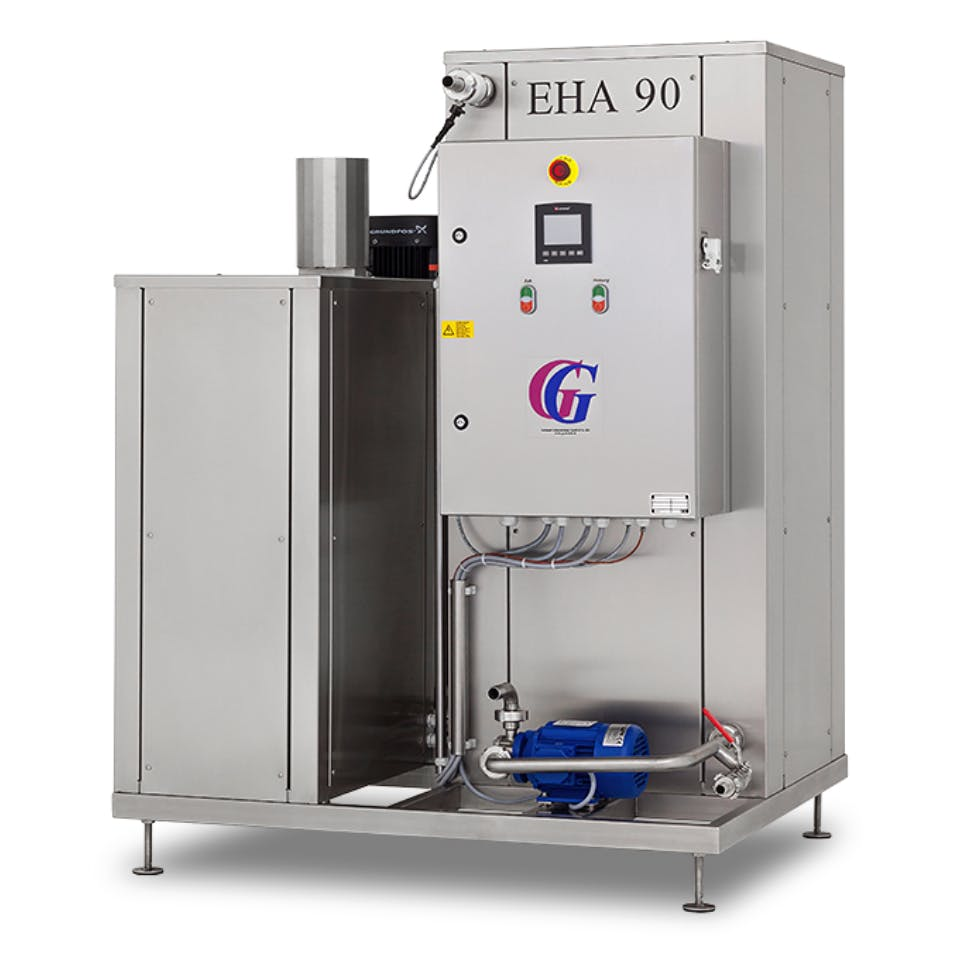 Pasteurizer EHA 90 - sold by Mobile Juice Factory