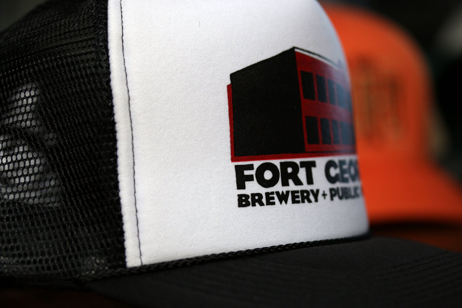 Foam front trucker (print) - sold by Brewery Outfitters