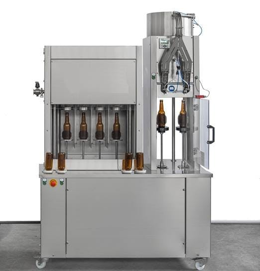 Rinser Filler Capper for beer (semi-auto 350bph) Bottle filler sold by IC Filling Systems