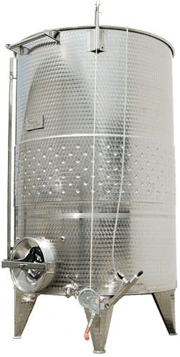 Custom Variable Capacity Sloped Bottom Wine Tanks Wine tank sold by The Vintner Vault