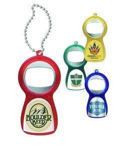 Bottle Opener Keychain - full Color Bottle opener sold by Ink Splash Promos™, LLC