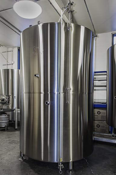 Hot Liquor/Cold Liquor Tanks Brewhouse sold by Rocky Mountain Vessels, LLC