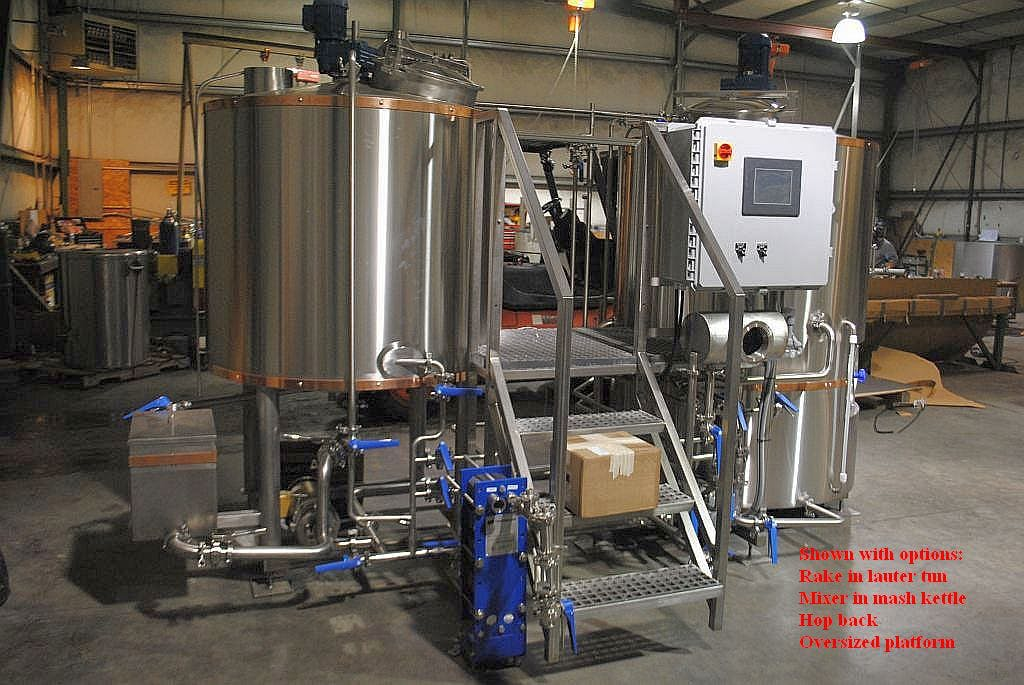 7 bbl brewhouse Brewhouse sold by Ager Tank & Equipment Co.