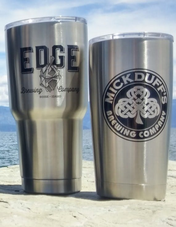 Stainless Steel Insulated Tumblers Stainless steel mug sold by Clearwater Gear