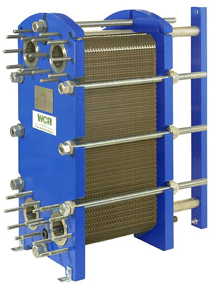 WCR Plate Heat Exchanger  Heat exchanger sold by WCR Incorporated