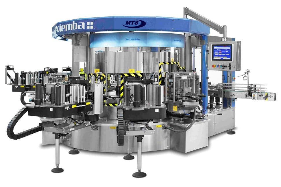 New Robust Labelers. Bottling machinery sold by Multi-Tech Systems International Inc.
