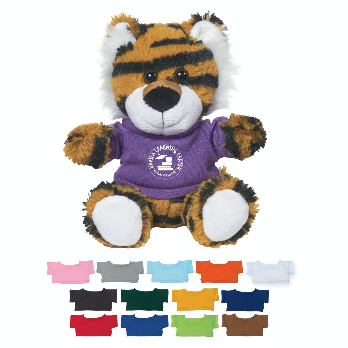 Tiger with Shirt (Item # OJIHQ-JKCXB) Stuffed toy sold by InkEasy