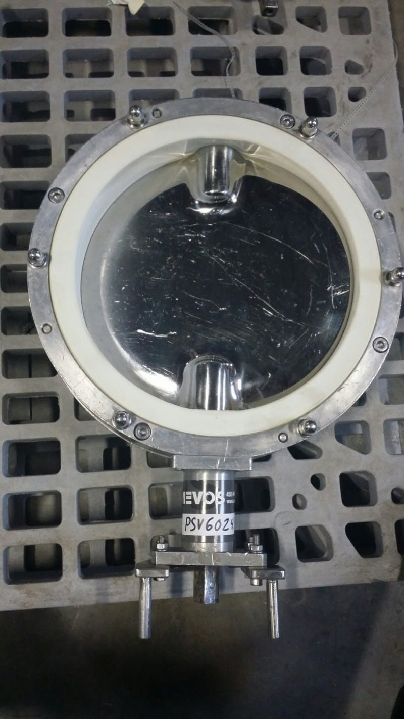 Sanitary Butterfly Valve 316L - 10'' (Used) - sold by Aevos Equipment