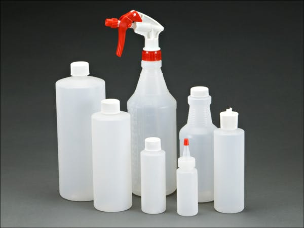 Spray Bottles and Carafes Plastic bottle sold by Midway Container