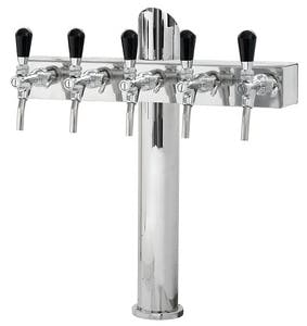 "Tower ""T"" Lindr on 1 stand Draft beer tower sold by Tap Your Keg, LLC"