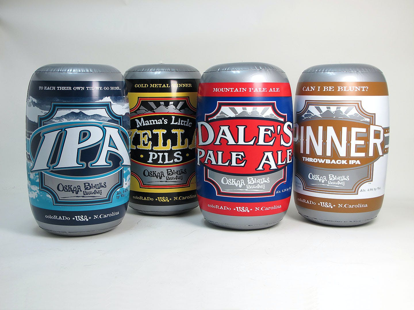 Inflatable Beer Cans - P.O.P. Inflatables - sold by Alvimar Global