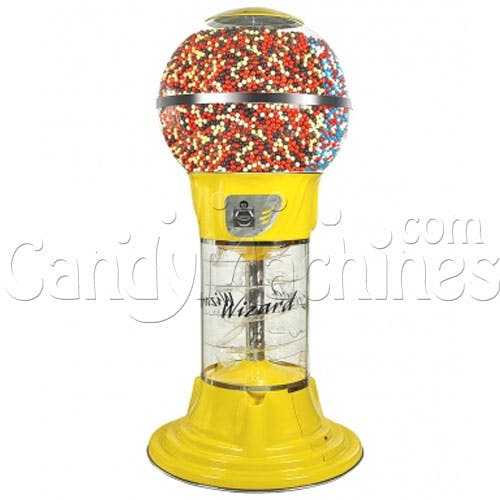 Mega Wizard Spiral Gumball Machine Vending machine sold by CandyMachines.com