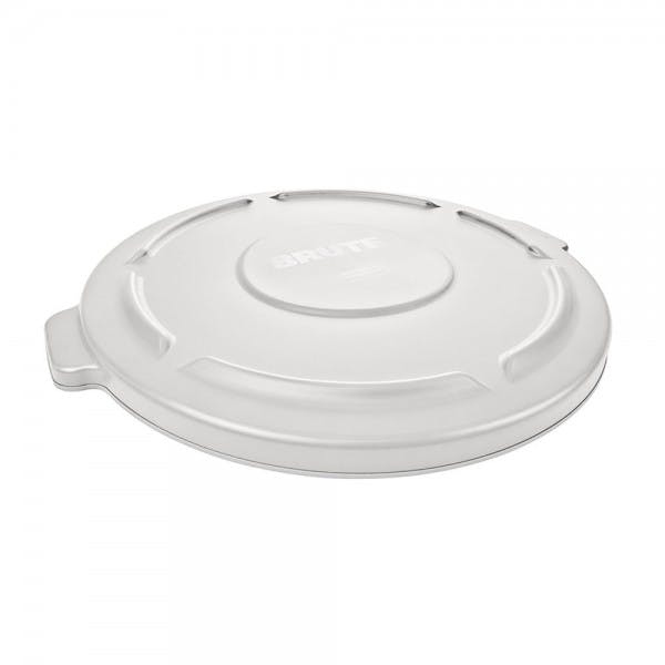 Brute® 32 gal. White Round Plastic Trash Can Lid