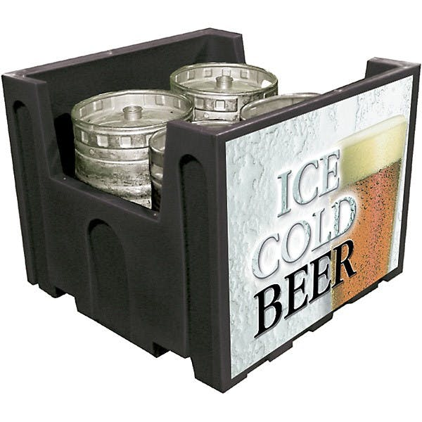 Commercial Insulated Keg Tote Keg storage sold by KegWorks