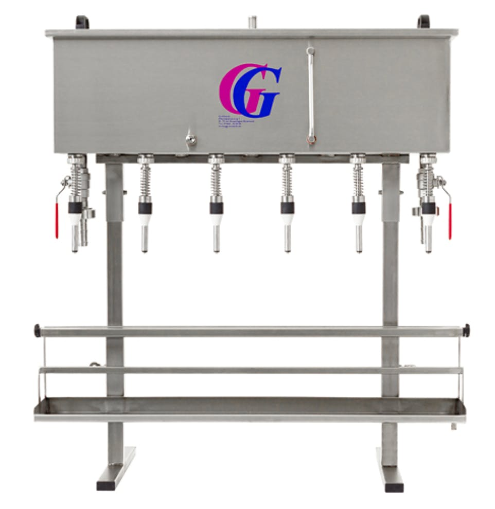Gravity Bottle Filler Bottle filler sold by Mueller Pot Stills Inc