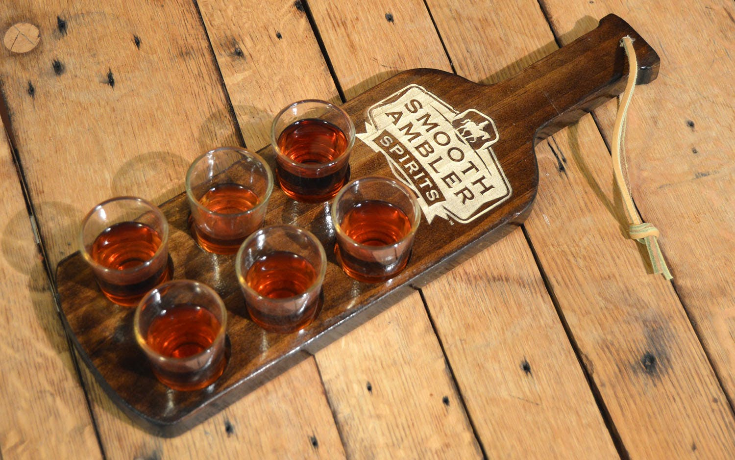 Custom Shot Paddles Barrel sold by Thousand Oaks Barrel Co.