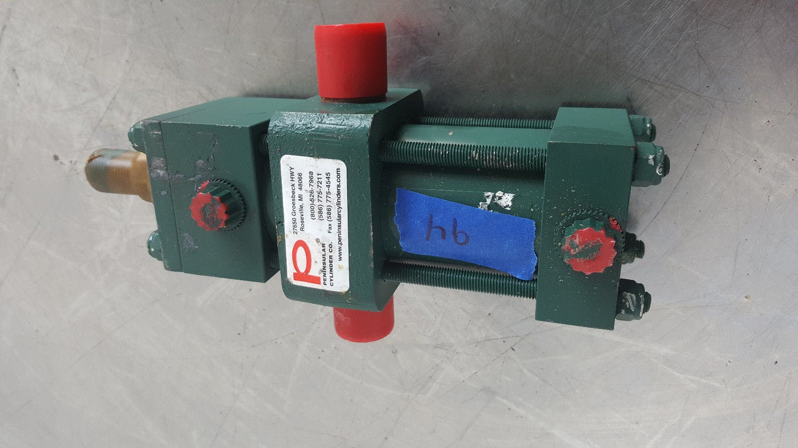 Peninsular 02.00 CP6200 3.000 250 Psi Air Pneumatic Cylinder New - B - sold by Jak's Restaurant Supply