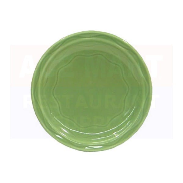 "Cantina 7-1/4"" Green Appetizer Plate"