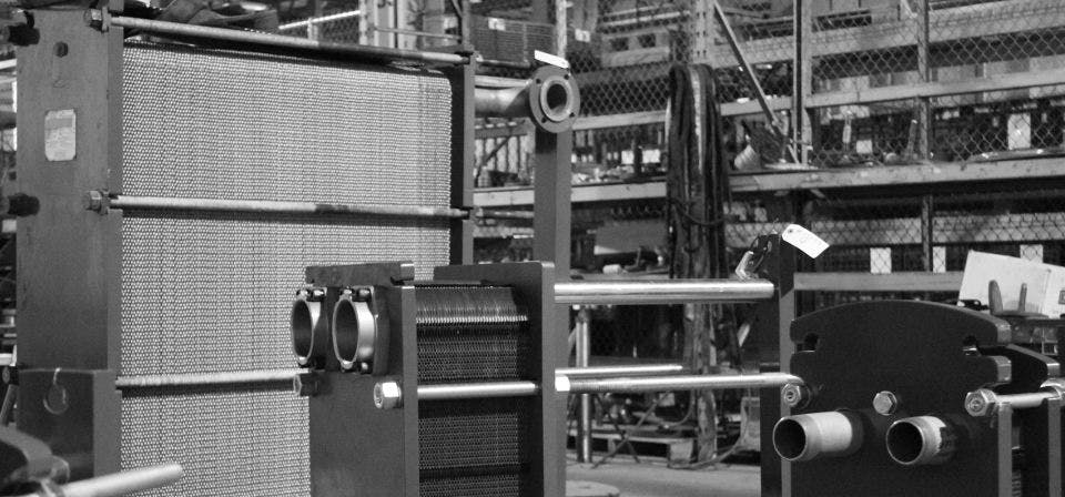 WCR Refurbished / Used Heat Exchanger Units  Heat exchanger sold by WCR Incorporated