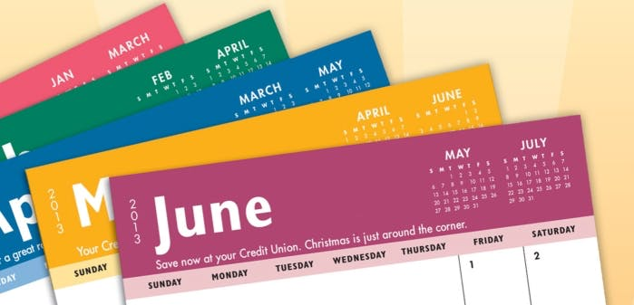 Cover Pocket Calendar (Item # TJMJR-GJQAU) Custom calendar sold by InkEasy
