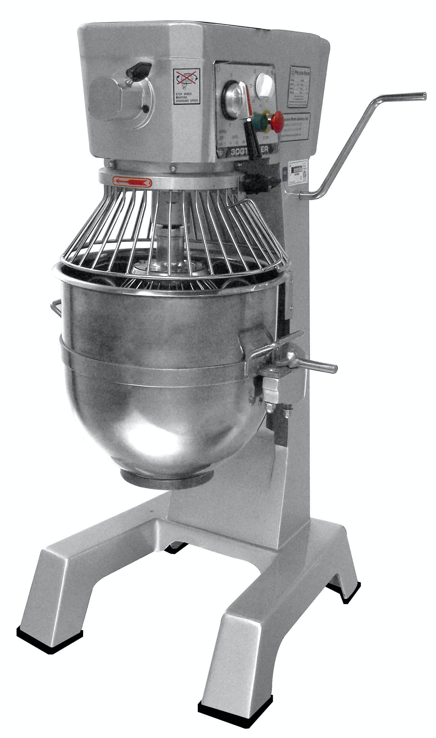 HUB-30 Mixer sold by Precision North America Food Machinery