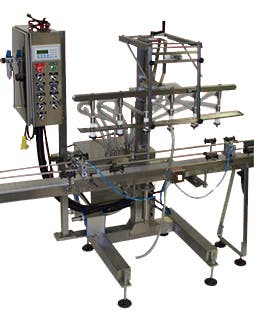 Automatic Straight Line Filling Machines Bottle filler sold by Filling Equipment Co., Inc.
