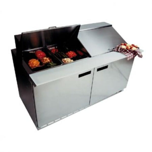 Mega Top Refrigerator Prep Table - V-DEF4464N-24M