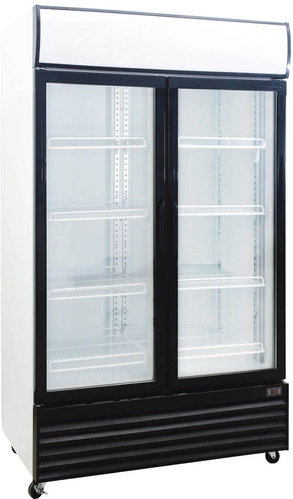 2-Door Upright Display Cooler
