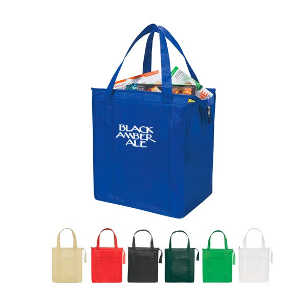 Non-Woven Insulated Shopper Tote Bag Bag sold by MicrobrewMarketing.com