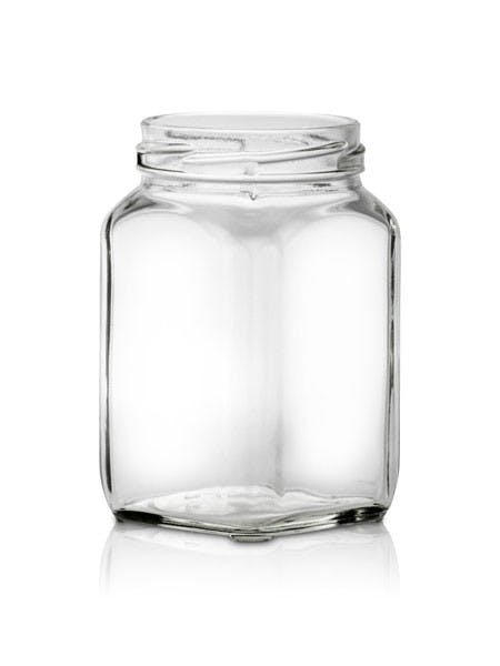 292ml Glass Colonial (Victorian) Jar Glass Jar sold by Burch Bottle & Packaging