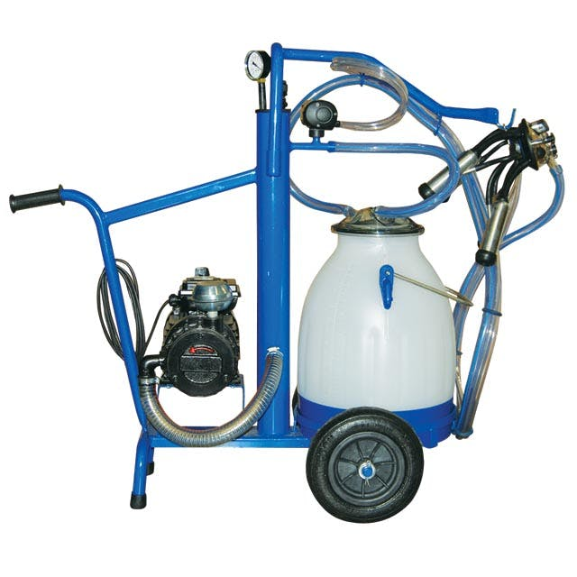 EcoMilker Portable Milker for One Goat Milking machine sold by Simple Milking Equipment