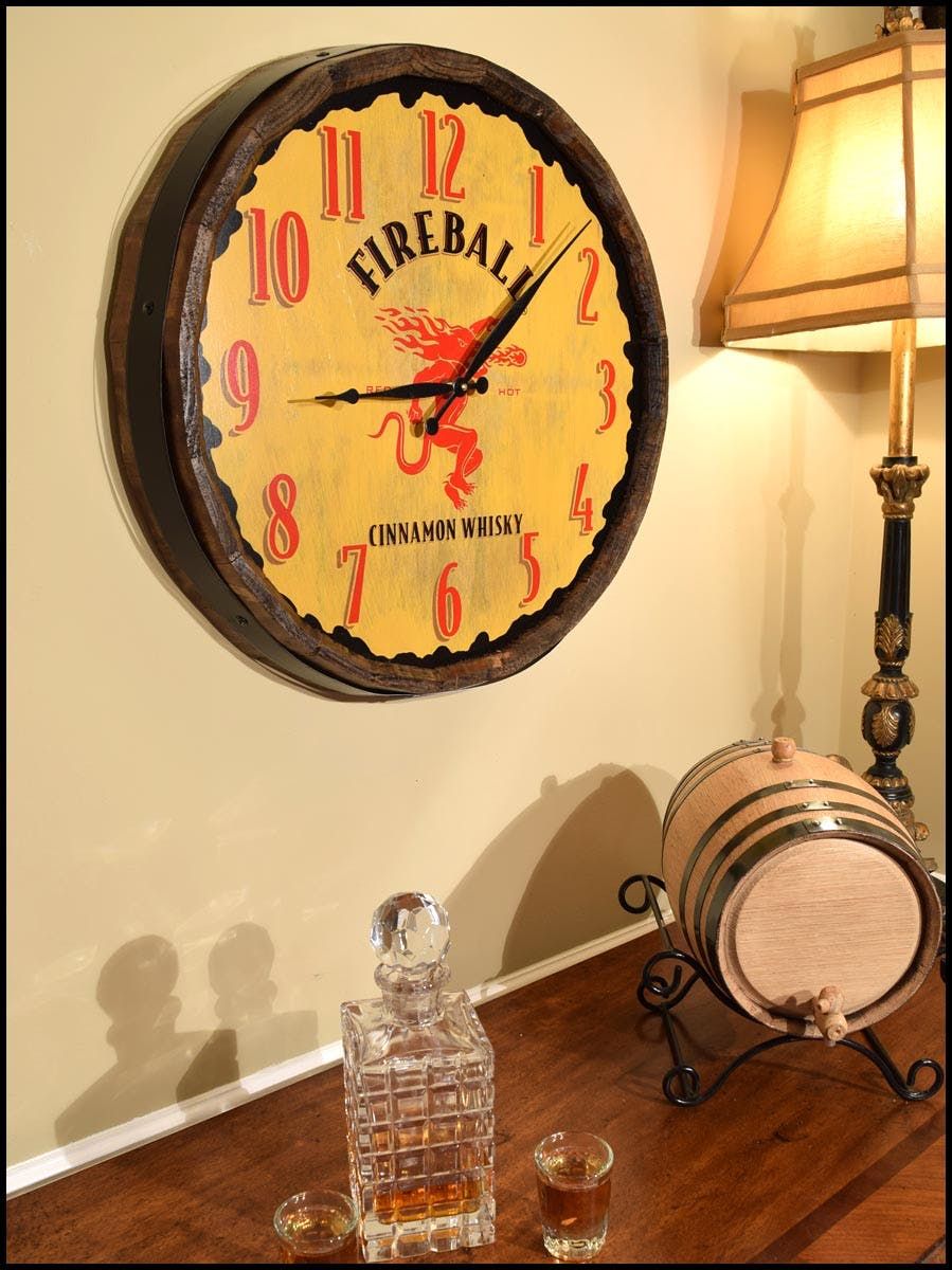 Quarter Barrel Clocks Wine barrel sold by Thousand Oaks Barrel Co.