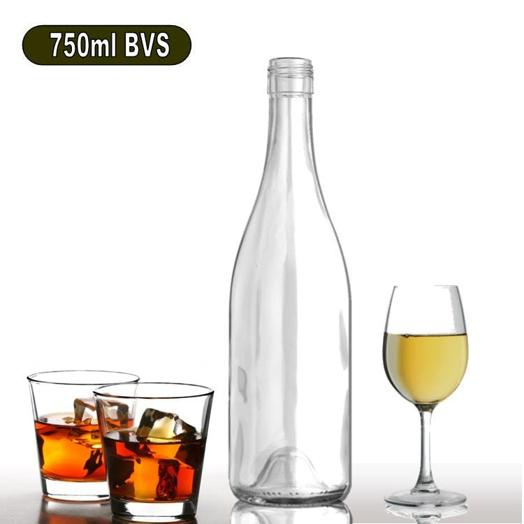 750ml W6F-BVS Burgundy Wine Bottle Wine bottle sold by Wholesale Bottles USA