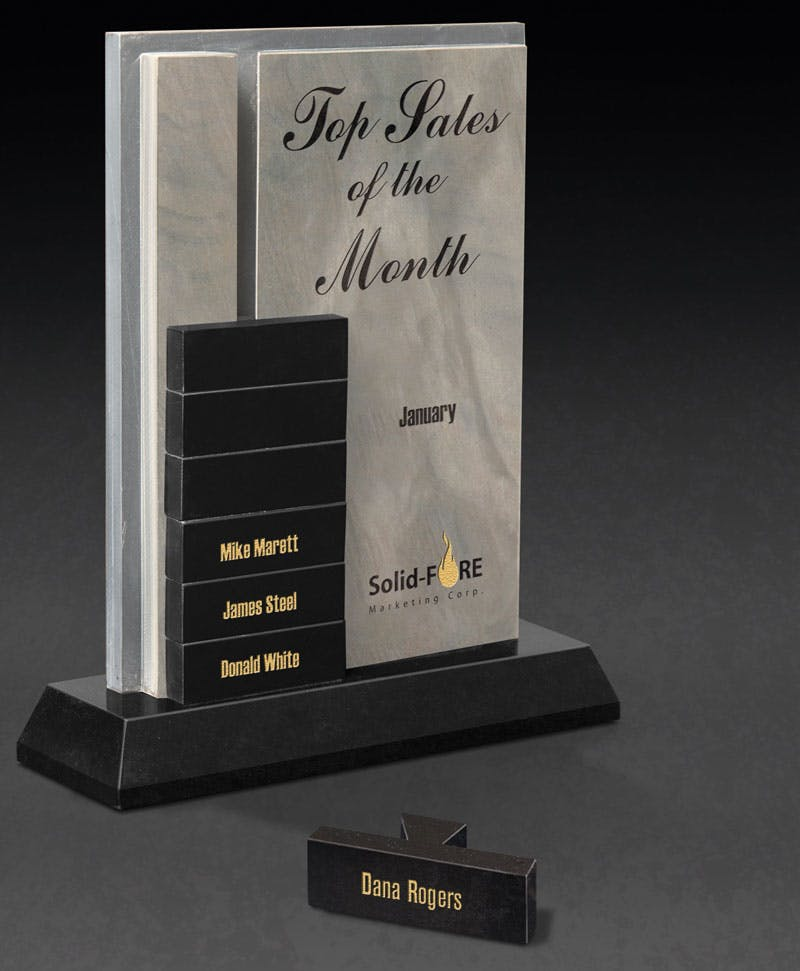 Perpetual Slate award Award sold by Distrimatics, USA