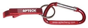 Deluxe Plain Can and Bottle Opener w/ Key Ring & Carabiner Bottle opener sold by Ink Splash Promos™, LLC
