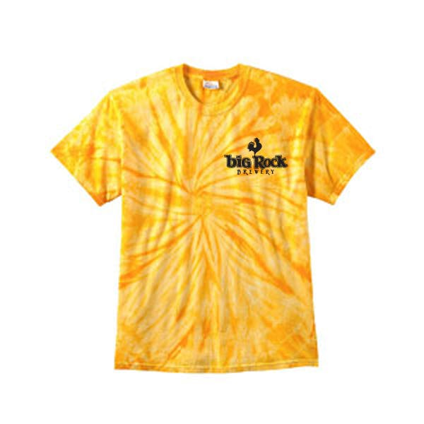 Tie-Dye 5.4 oz. 100% Cotton Tie-Dyed T-Shirt Promotional shirt sold by MicrobrewMarketing.com