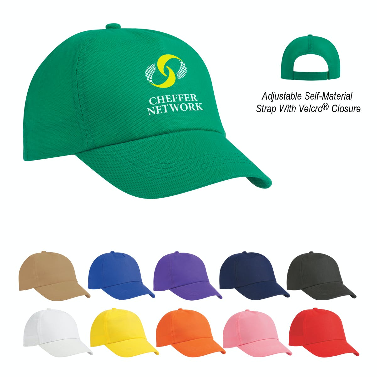 Budget Saver Cap (Item # MBFQT-ITMJK) Baseball cap sold by InkEasy