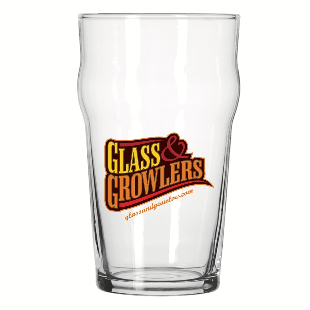 14801 English Pub Glass 20 oz Beer glass sold by Glass and Growlers