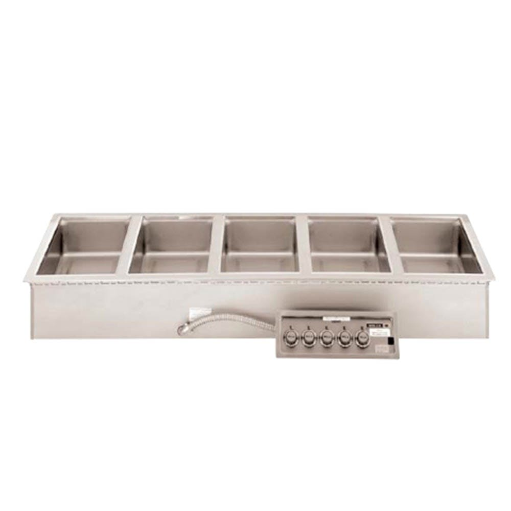 Wells MOD-500TDM Drop In Food Warmer, 5 Well Full Size, 208/240v Food warmer sold by Mission Restaurant Supply
