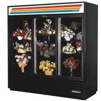 True GDM-69FC-LD 69 Cu. Ft. Sliding Door Floral Case - LED Merchandiser sold by Prima Supply