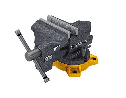 Olympia Tool 38-604 4-Inch Bench Vise - sold by Meilestone