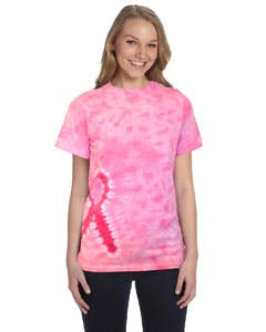 CD1150 Tie-Dye Pink Ribbon T-Shirt Promotional shirt sold by Lee Marketing Group